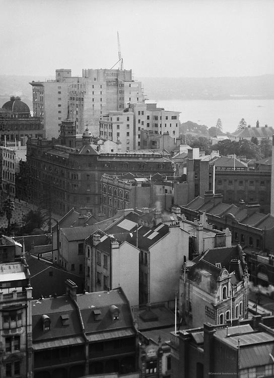 Skyscrapers near Harbour, Sydney, Australia, 1930