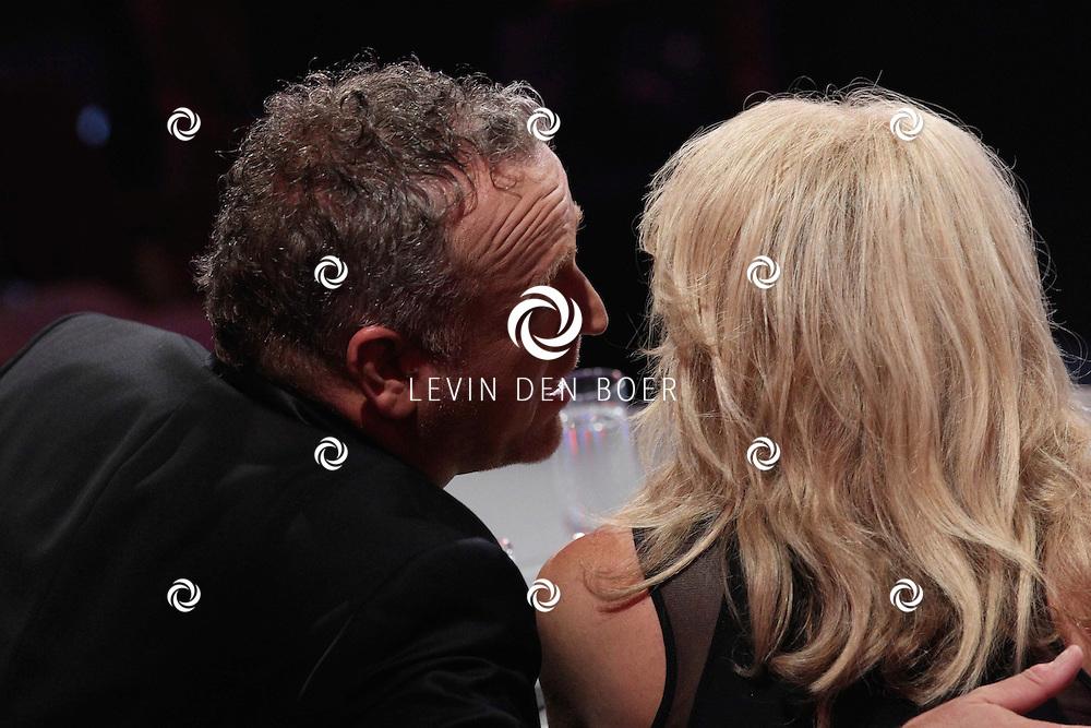 HILVERSUM - De tweede live show van Hollands Got Talent met diversen optredens. Met op deze foto  jurylid Gordon Heuckeroth en Patricia Paay. FOTO LEVIN DEN BOER - PERSFOTO.NU