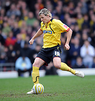 Watford/Stoke City Championship 15.03.08 <br /> Photo: Tim Parker Fotosports International<br /> Darius Henderson misses penalty for Watford