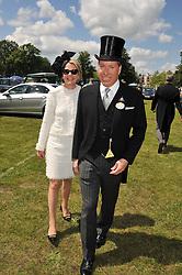 VISCOUNT & VISCOUNTESS LINLEY at day 1 of the Royal Ascot Racing Festival 2012 held on 19th June 2012.
