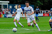 Leeds United Ryan Edmondson (14) through on goal during the Pre-Season Friendly match between Tadcaster Albion and Leeds United at i2i Stadium, Tadcaster, United Kingdom on 17 July 2019.