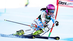 28.12.2013, Hochstein, Lienz, AUT, FIS Weltcup Ski Alpin, Damen, Riesenslalom 2. Durchgang, im Bild Marion Bertrand (FRA) // Marion Bertrand of (FRA) during ladies Giant Slalom 2 nd run of FIS Ski Alpine Worldcup at Hochstein in Lienz, Austria on 2013/12/28. EXPA Pictures © 2013, PhotoCredit: EXPA/ Oskar Höher