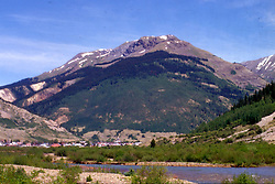 Silverton Colorado Note: This image was originally produced on film and scanned to produce a digital file.  Some dust may be visible from that scan