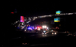 January 14, 2012: Accident on I-79 Southbound on the 121 mile marker.  Mandatory Credit: Ben Queen