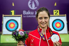 20150621 Baku 2015 European Games - Bueskydning Individuel finale,- Maja jager