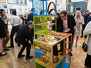 Royal Academy of Arts Summer Party. Burlington House, Piccadilly. London. 7June 2017