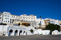 Maroc, Tanger, la medina, hotel Continental // Morocco, Tangier (Tanger), the medina, old city, Continental hotel