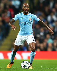 Fabian Delph of Manchester City - Mandatory by-line: Matt McNulty/JMP - 26/09/2017 - FOOTBALL - Etihad Stadium - Manchester, England - Manchester City v Shakhtar Donetsk - UEFA Champions League Group stage - Group F