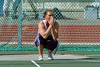 Friidrett<br /> Europacup kvinner<br /> 23.06.2007<br /> Foto: Hasse Sjøgren, Digitalsport<br /> <br /> Grete Etholm Snyder ble uten resulat i diskos