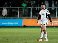 Ulster Rugby's Charles Piutau<br /> <br /> Photographer Simon King/Replay Images<br /> <br /> Guinness Pro14 Round 10 - Dragons v Ulster - Friday 1st December 2017 - Rodney Parade - Newport<br /> <br /> World Copyright © 2017 Replay Images. All rights reserved. info@replayimages.co.uk - www.replayimages.co.uk