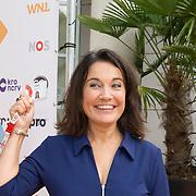 NLD/Hilversum/20180828 -  Persviewing nieuw tv-seizoen NPO, Dionne de Graaff