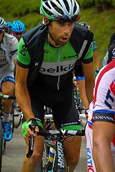 Col du Glandon, France - Tour de France :: Stage 19 - 19th july 2013 - Laurens TEN DAM (Belkin Pro Cycling)