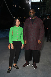 Steve McQueen (R) and a guest attend the Chanel Cruise 2018/2019 Collection at Le Grand Palais on May 3, 2018 in Paris, France. Photo by Laurent Zabulon/ABACAPRESS.COM