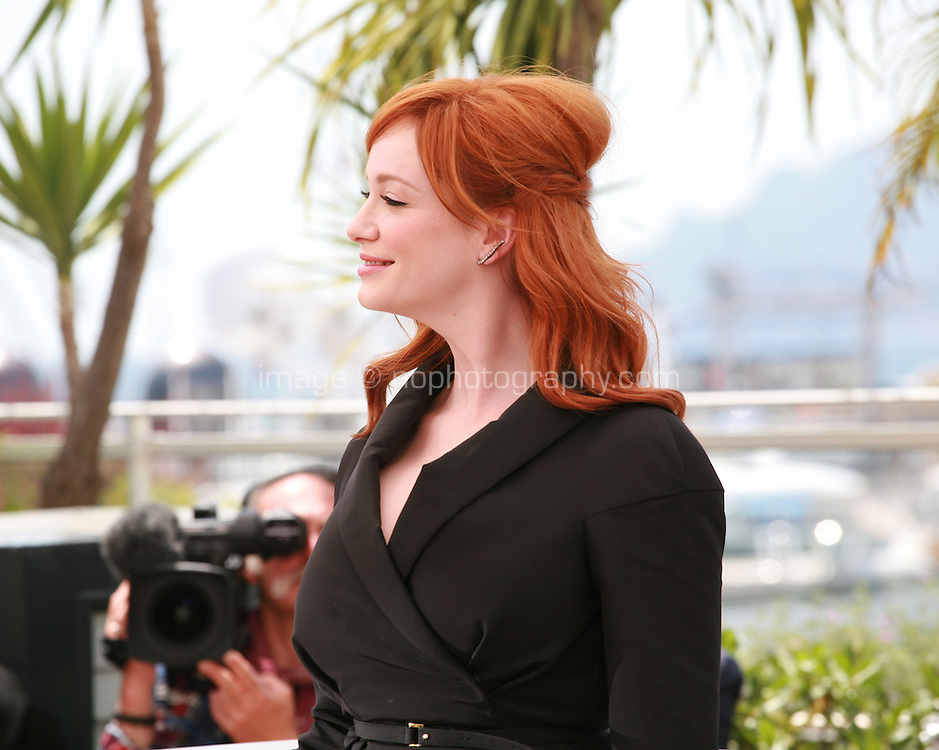 Actress Christina Hendricks at the photo call for the film Lost River at the 67th Cannes Film Festival, Tuesday 20th May 2014, Cannes, France.