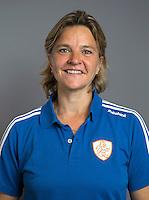 ARNHEM - Assistent bondscoach Ageeth Boomgaardt. Nederlands Hockeyteam dames voor Wereldkamioenschappen hockey 2014. FOTO KOEN SUYK
