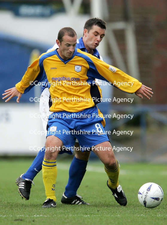 Queen of the South v St Johnstone...16.10.04<br />