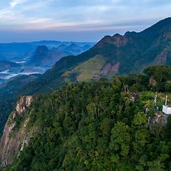 """""""Igrejinha de Burarama (paisagem) fotografado em Burarama, distrito do município de Cachoeiro de Itapemirim, no Espírito Santo -  Sudeste do Brasil. Bioma Mata Atlântica. Registro feito em 2018.<br /> ⠀<br /> ⠀<br /> <br /> <br /> ENGLISH: Burarama small Church photographed in Burarama, a district of the Cachoeiro de Itapemirim County, in Espírito Santo - Southeast of Brazil. Atlantic Forest Biome. Picture made in 2018."""""""