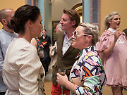 JESSIE WARE; JAIME WINSTONE, Royal Academy of Arts Summer Party.  Burlington House, Piccadilly. London. 7June 2017