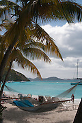 Yost Van Dyke is the smallest of the BVI and has a population of under 300. It's a beautiful place to take a suitcase full of books and that one blank book.