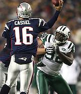 NFL Patriots v Jets 11-13-08