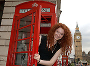 EMILY TRIMBLE-THOMPSON 18 MODEL FROM VICTORIA Australia who is working and living in Paris France..07.08-2009 .Pic Jayne Russell
