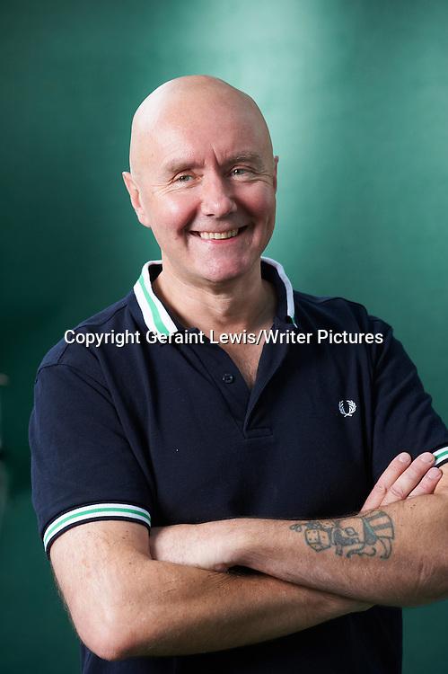 Irvine Welsh, Scottish writer of the book Trainspotting at The Edinburgh International Book Festival 2011<br /> <br /> Copyright Geraint Lewis/Writer Pictures