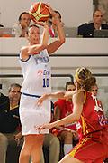 DESCRIZIONE : Ortona Italy Italia Eurobasket Women 2007 Italia Spagna Italy Spain <br /> GIOCATORE : Laura Macchi <br /> SQUADRA : Nazionale Italia Donne Femminile <br /> EVENTO : Eurobasket Women 2007 Campionati Europei Donne 2007 <br /> GARA : Italia Spagna Italy Spain <br /> DATA : 29/09/2007 <br /> CATEGORIA : Tiro <br /> SPORT : Pallacanestro <br /> AUTORE : Agenzia Ciamillo-Castoria/S.Silvestri <br /> Galleria : Eurobasket Women 2007 <br /> Fotonotizia : Ortona Italy Italia Eurobasket Women 2007 Italia Spagna Italy Spain <br /> Predefinita :