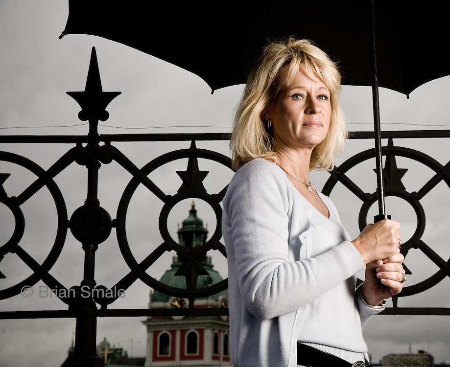 Annika Falkengren - SEB Bank.  Photographed by Brian Smale in Stockholm, Sweden for Fortune Magazine's list of 50 Most Powerful Women