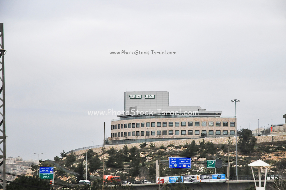 Teva pharmaceuticals factory in Jerusalem, Israel