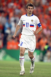 SERGEI SEMAK.RUSSIA  FC RUBIN KAZAN.HOLLAND V RUSSIA, EURO 2008.ST JAKOB-PARK, BASEL, SWITZERLAND.21 June 2008.DIU80219..  .WARNING! This Photograph May Only Be Used For Newspaper And/Or Magazine Editorial Purposes..May Not Be Used For, Internet/Online Usage Nor For Publications Involving 1 player, 1 Club Or 1 Competition,.Without Written Authorisation From Football DataCo Ltd..For Any Queries, Please Contact Football DataCo Ltd on +44 (0) 207 864 9121