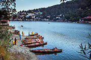 Traveling in Himalayan Hill Station of Nainital, Uttarakhand, India