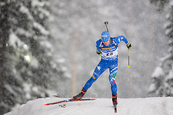March 9, 2019 - –Stersund, Sweden - 190309 Lukas Hofer of Italy competes in the Men's 10 KM sprint during the IBU World Championships Biathlon on March 9, 2019 in Östersund..Photo: Petter Arvidson / BILDBYRÃ…N / kod PA / 92252 (Credit Image: © Petter Arvidson/Bildbyran via ZUMA Press)