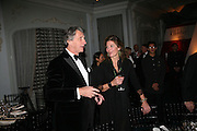 ARNAUD BAMBERGER AND BARONESSE CARINA VON ULLMANN, The 2007 Cartier Racing Awards. Four Seasonss Hotel. London. 14 November 2007. -DO NOT ARCHIVE-© Copyright Photograph by Dafydd Jones. 248 Clapham Rd. London SW9 0PZ. Tel 0207 820 0771. www.dafjones.com.