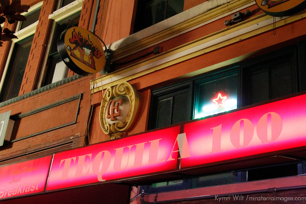 USA, California, San Diego. Tequila 100 Bar, San Diego.