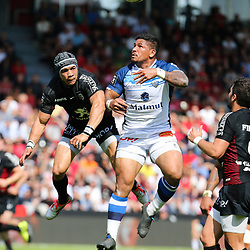 David Smith of Castres during the French Top 14 Playoffs match between Stade Toulousain and Castres at Stade Ernest Wallon on May 19, 2018 in Toulouse, France. (Photo by Laurent Frezouls/Icon Sport)
