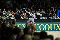 Photographie Eric KNOLL. Bordeaux 2018. Cross Indoor.<br /> Michael JUNG (GER). CORAZONJung Michael, GER, Corazon<br /> Jumping de Bordeaux 2018<br /> &copy; Hippo Foto - Eric Knoll<br /> 02/02/2018