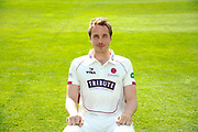 County Championship kit portrait of Josh Davey during the Somerset County Cricket Club PhotoCall 2017 at the Cooper Associates County Ground, Taunton, United Kingdom on 5 April 2017. Photo by Graham Hunt.