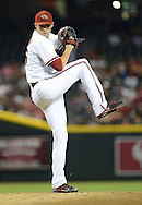 PHOENIX, AZ - JUNE 07:  Starting pitcher Patrick Corbin #46 of the Arizona Diamondbacks pitches against the San Francisco Giants in the first inning at Chase Field on June 7, 2013 in Phoenix, Arizona.  (Photo by Jennifer Stewart/Getty Images) *** Local Caption *** Patrick Corbin