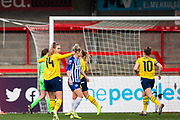 GOAL Danielle Van de Donk (Arsenal) scores a goal 0-1 during the FA Women's Super League match between Brighton and Hove Albion Women and Arsenal Women FC at The People's Pension Stadium, Crawley, England on 12 January 2020.