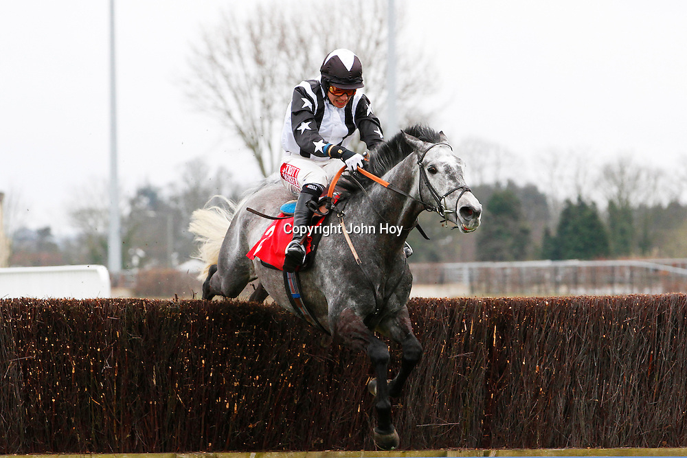 Quentin Collonges and Jake Greenall running in the 2.15 race