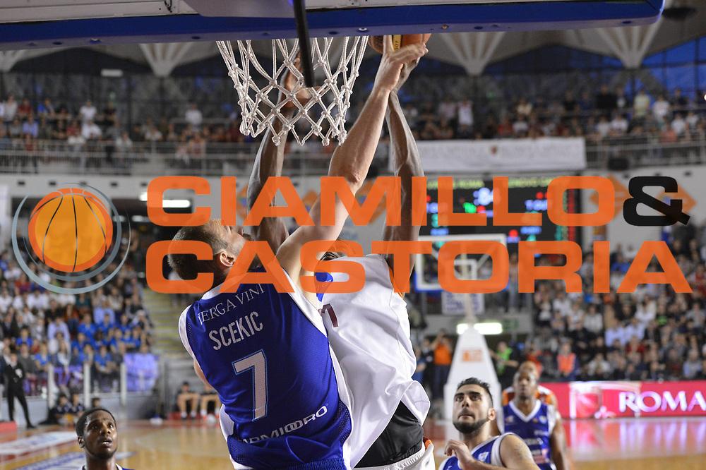 DESCRIZIONE : Roma Lega A 2012-2013 Acea Roma Lenovo Cant&ugrave; playoff semifinale gara 2<br /> GIOCATORE : Marko Scekic<br /> CATEGORIA : stoppata<br /> SQUADRA : Lenovo Cantu<br /> EVENTO : Campionato Lega A 2012-2013 playoff semifinale gara 2<br /> GARA : Acea Roma Lenovo Cant&ugrave;<br /> DATA : 27/05/2013<br /> SPORT : Pallacanestro <br /> AUTORE : Agenzia Ciamillo-Castoria/GiulioCiamillo<br /> Galleria : Lega Basket A 2012-2013  <br /> Fotonotizia : Roma Lega A 2012-2013 Acea Roma Lenovo Cant&ugrave; playoff semifinale gara 2<br /> Predefinita :