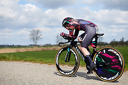Alice Barnes (GBR) at Healthy Ageing Tour 2019 - Stage 4A, a 14.4km individual time trial starting and finishing in Winsum, Netherlands on April 13, 2019. Photo by Sean Robinson/velofocus.com