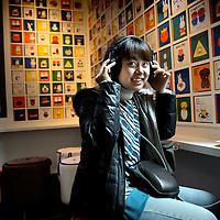 Nederland, Utrecht , 21 maart 2012..Nijntje fan in het Nijntje museum..Foto:Jean-Pierre Jans