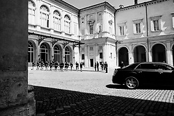 Italy's Presidential Palace, Quirinale during the political talks after Italy's general election. Rome on  20 April 2018. Christian Mantuano / OneShot