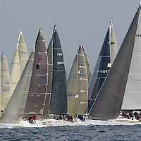 VOILE, REGATES, COURSE AU LARGE