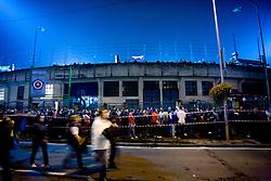 Stadium's exterior before  the 2010 FIFA World Cup South Africa Qualifying match between Slovakia and Slovenia, on October 10, 2009, Tehelne Pole Stadium, Bratislava, Slovakia.  (Photo by Vid Ponikvar / Sportida)