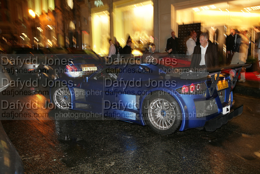 ANDREW WARD, De Grisogono & Londino Car Rally  party. <br />Pal Zileri, Hans Crescent London, W1, 22 August. Launch of car rally which takes drivers through London, France, Switzerland and finally to Portofino .  -DO NOT ARCHIVE-© Copyright Photograph by Dafydd Jones. 248 Clapham Rd. London SW9 0PZ. Tel 0207 820 0771. www.dafjones.com.