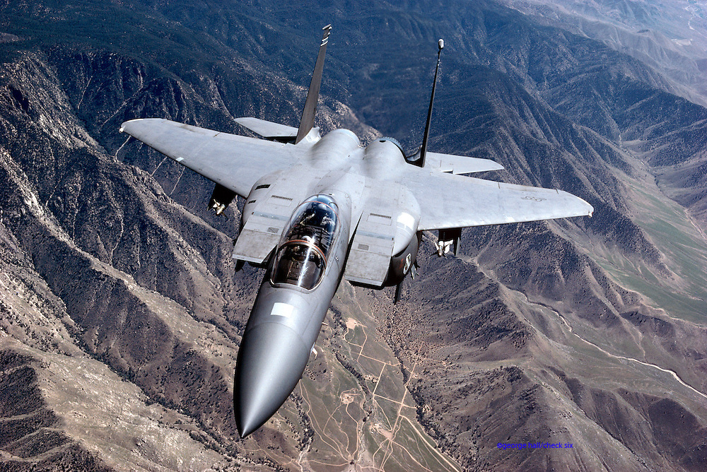 F-15E Eagle jet fighter