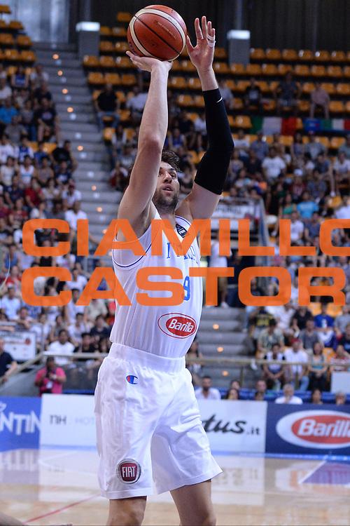 Bologna 26 Giugno 2016<br /> BASKET Basketball tournament city<br /> Italia Filippine<br /> NELLA FOTO Andrea Bargnani<br /> FOTO CIAMILLO