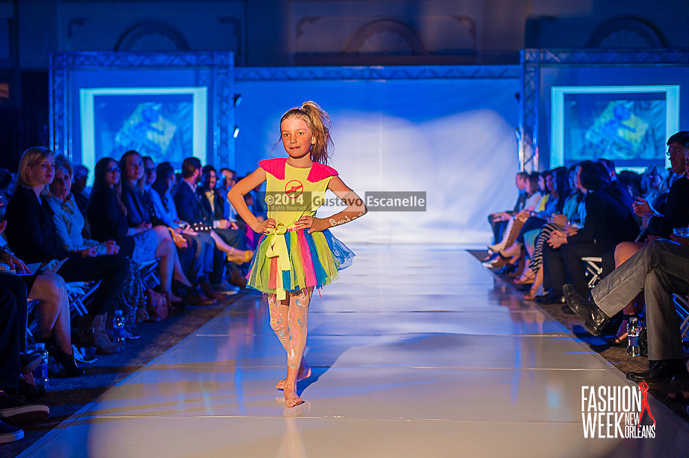 FASHION WEEK NEW ORLEANS: No Bully show case there design on the runway at the Board of Trade, Fashion Week New Orleans on Wednesday March 19. 2014. #FWNOLA, #FashionWeekNOLA, #Design #FashionWeekNewOrleans, #NOLA, #Fashion #BoardofTrade, #GustavoEscanelle, #TraceeDundas , #romeyRoe, #DominiqueWhite . View more photos at <br />